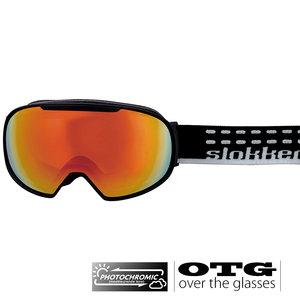 Slokker SF Photochromic OTG Skibril - Zwart
