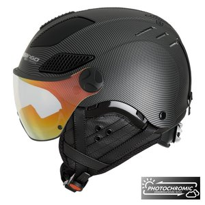 Mango Quota Plus Skihelm Met Photochomic VQPW Vizier - 2019 - Zwart