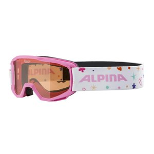 Alpina Piney Junior Skibril - 2020  - Roze
