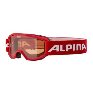 Alpina Alpina Piney Junior Skibril - Rood