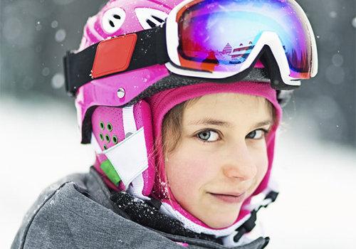 Skihelmen voor kinderen