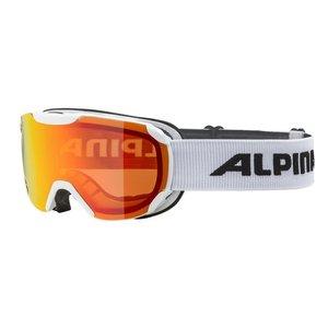 Alpina Alpina Thaynes Skibril | White | DoubleFlex Hicon Mirror Lens