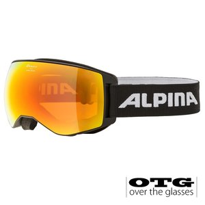 Alpina Naator  HM OTG Skibril - 2020  - Zwart
