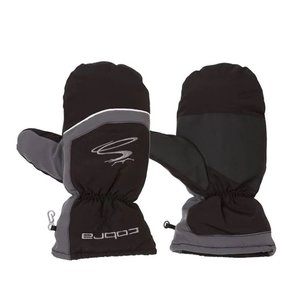 Puma Cobra Winter Mittens Wanten - Zwart Grijs