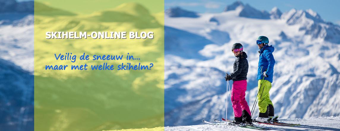 Veilig de sneeuw in ... maar met welke skihelm?