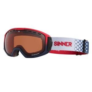Sinner Mohawk Skibril - Rood Blauw - 2019