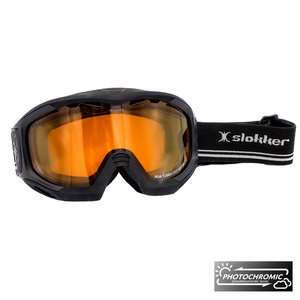Slokker RS Photochromic Skibril - Zwart