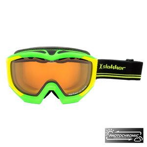 Slokker Slokker RS Photochromic Skibril - Groen