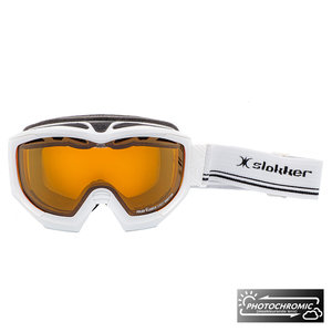 Slokker RS Photochromic Skibril - Wit