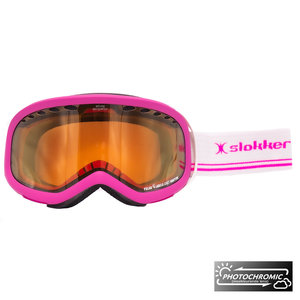 Slokker RH Photochromic Skibril - Roze