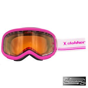 Slokker Slokker RH Photochromic Skibril - Roze