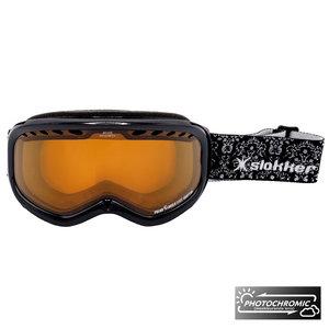 Slokker RH Photochromic Skibril - Zwart