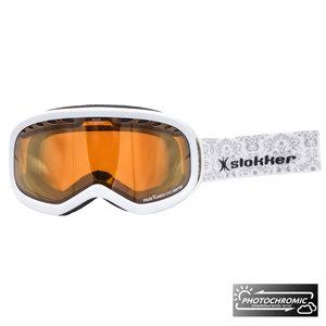 Slokker RH Photochromic Skibril - Wit