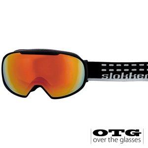 Slokker SF OTG Skibril - Zwart