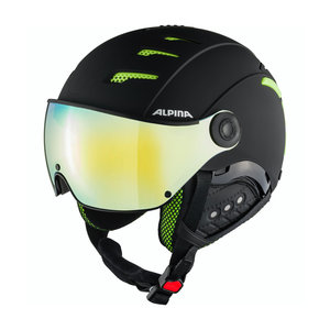 Alpina Alpina Jump 2.0 HM Skihelm Met Vizier | Zwart Lime