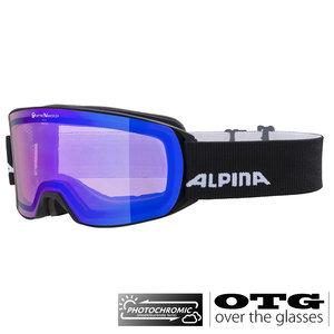 Alpina Nakiska QVM Photochromic OTG Skibril - 2020- Zwart