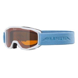 Alpina Alpina Piney Junior Skibril - Lichtblauw