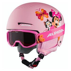 Alpina Alpina Zupo Disney Skihelm + Skibril - Minnie Mouse