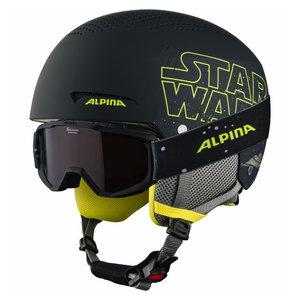 Alpina Alpina Zupo Disney Skihelm + Skibril - Star Wars
