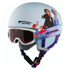 Alpina Zupo Disney Skihelm + Piney Skibril - 2020 - Frozen