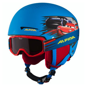 Alpina Alpina Zupo Disney Skihelm + Piney Skibril - Cars
