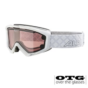 Alpina Panoma QL OTG Skibril - 2020 - Wit + EXTRA LENS