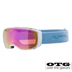 Alpina Estetica QHM Polariserend Skibril - 2020 - Wit Lichtblauw