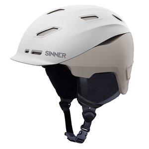 Sinner Moonstone Hybrid Skihelm - 2020 - Wit / Grijs