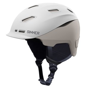 Sinner Moonstone Hybrid Junior Skihelm - 2020 - Wit / Grijs