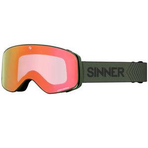 Sinner Sinner Olympia+ Skibril - Groen