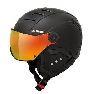 Alpina Alpina Jump 2.0 QVM Skihelm Met Vizier - Mat Zwart