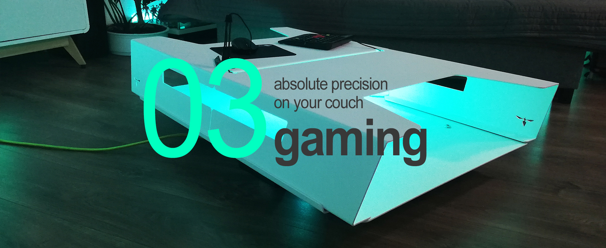ally twintop coffeetable // gaming