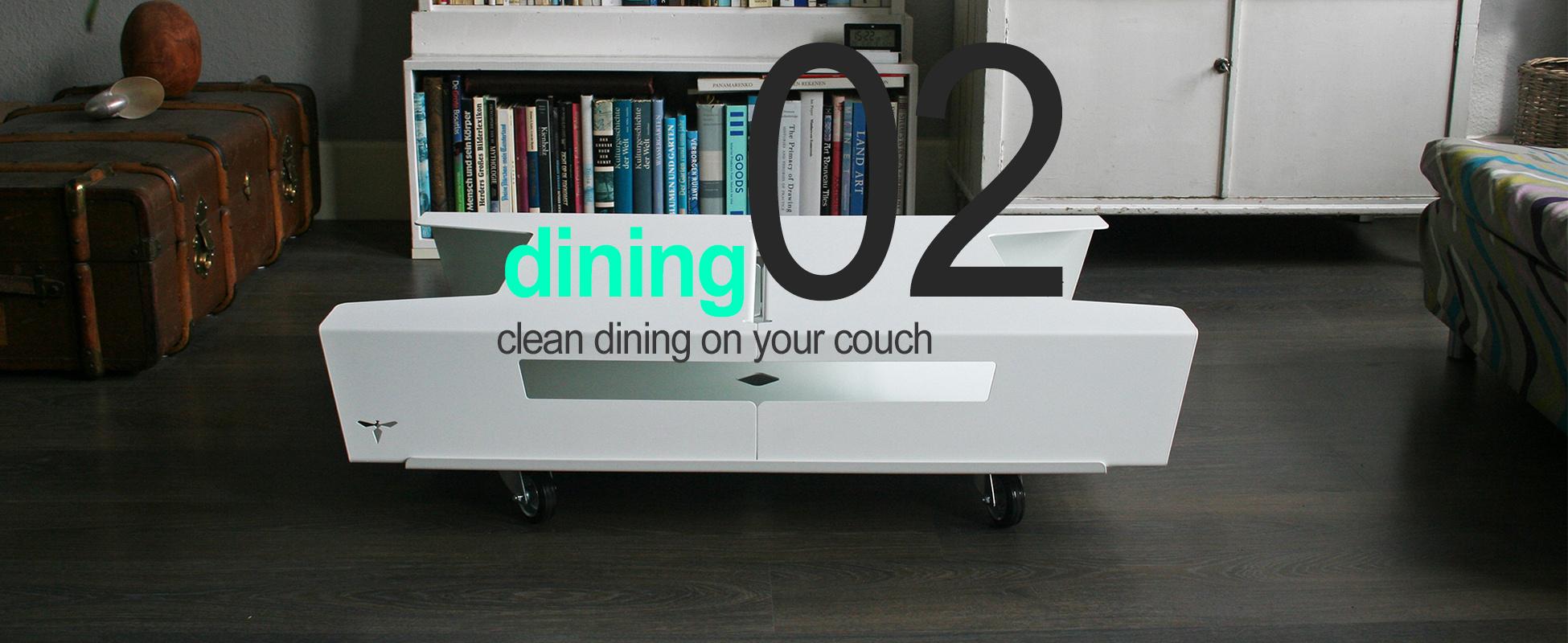 Essen - ohne Kleckern auf deiner Couch