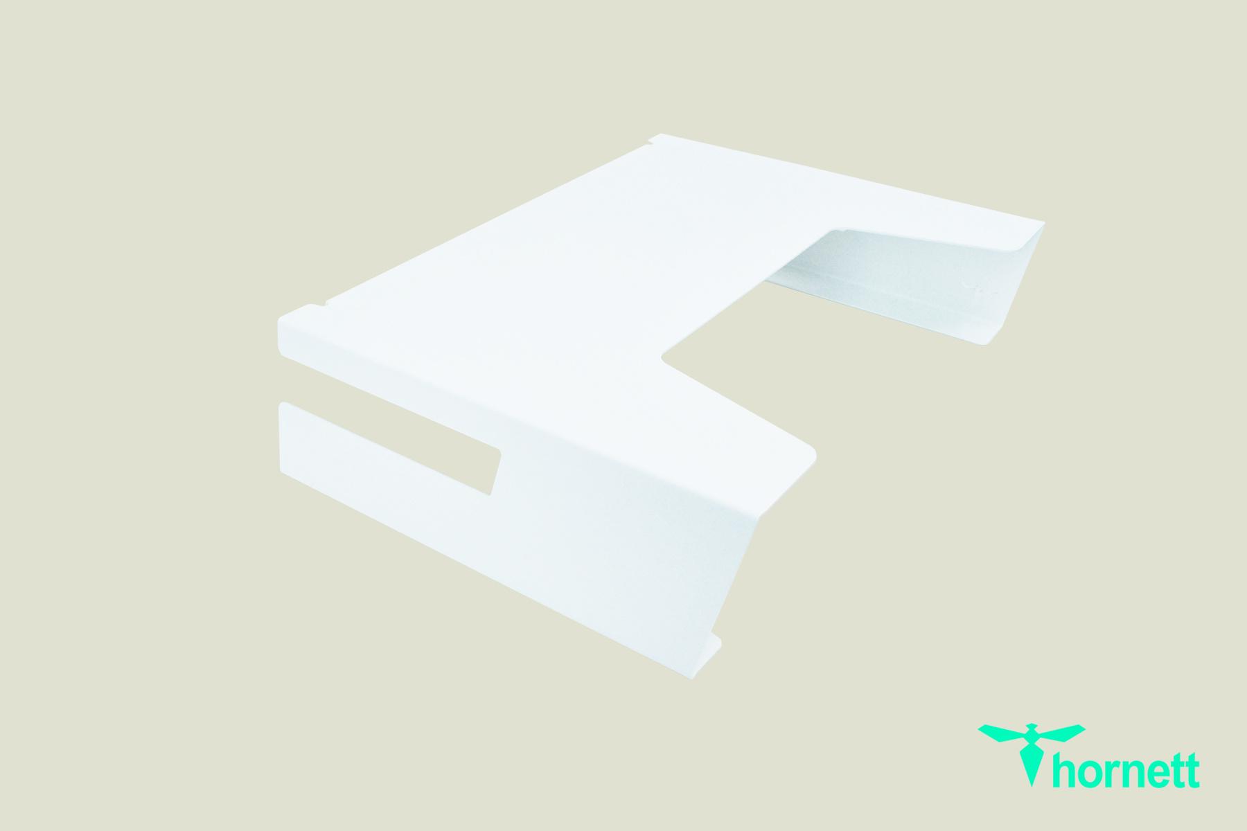 hornett ally tabletop coffeetable white