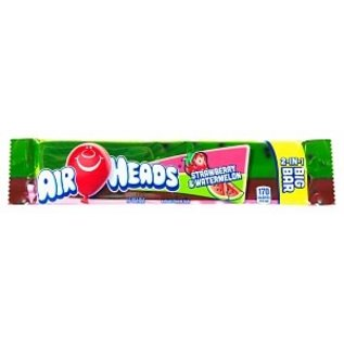 Airheads Strawberry & Watermelon 2-in-1 Big Bar