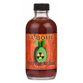 Da'Bomb Da'Bomb Ghost Pepper Hot Sauce 112 gr
