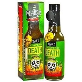 Blair's Blair's Jalapeno death sauce with Tequila