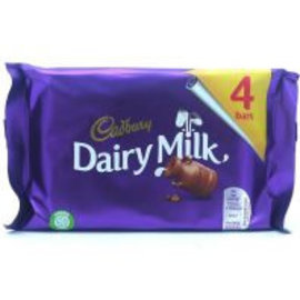 Cadbury Cadbury Dairy Milk 4-pack 117.2 gr