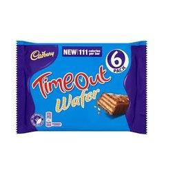 Cadbury Cadbury Timeout 6-pack 127.2 gr