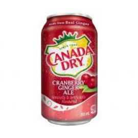 Canada Dry Canada Dry Cranberry blik 0.355 l