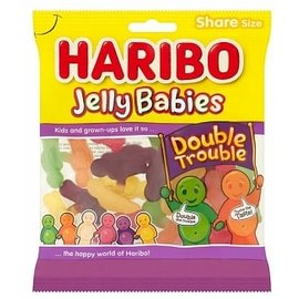 Haribo Haribo Jelly Babies Double Trouble 140g