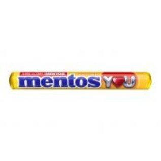 Mentos Mentos Strawberry / Banana 37,5 gr