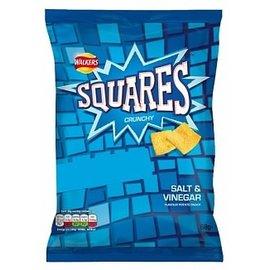 Walkers Walkers Squares Salt/vinegar  68g