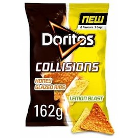 Doritos Doritos Collisions Honey Glazed Rib & Lemon Tortilla Chips 162g