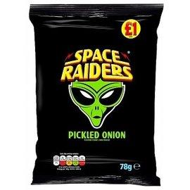 Space Raiders Space Raiders Pickled Onion  78g
