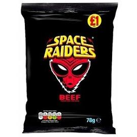 Space Raiders Space Raiders Beef  78g