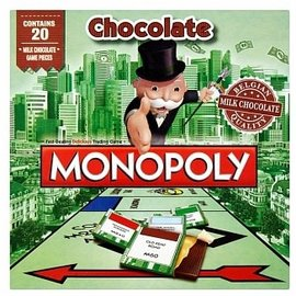 Games Milk Chocolate Monopoly 90g