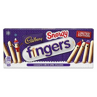 Cadbury Cadbury Snowy Fingers 115g