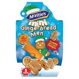 Mcvities Mcvities Gingerbread Men Icing Kit 95g