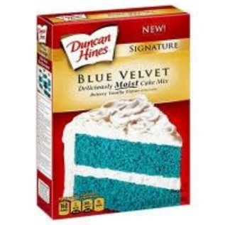 Duncan Hines Duncan Hines signature Blue Velvet cake mix 432gr